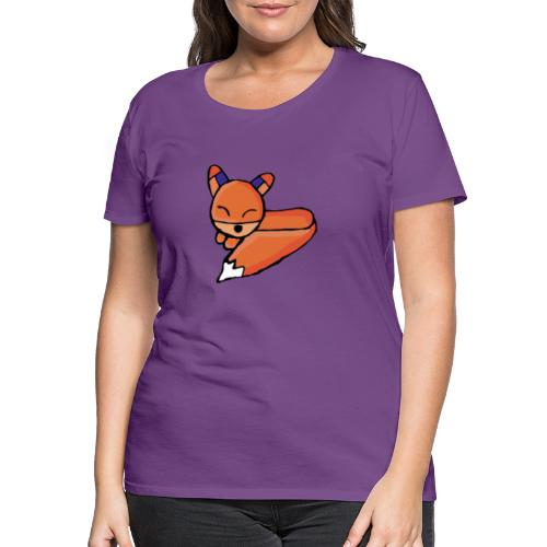 Edo le renard - T-shirt Premium Femme