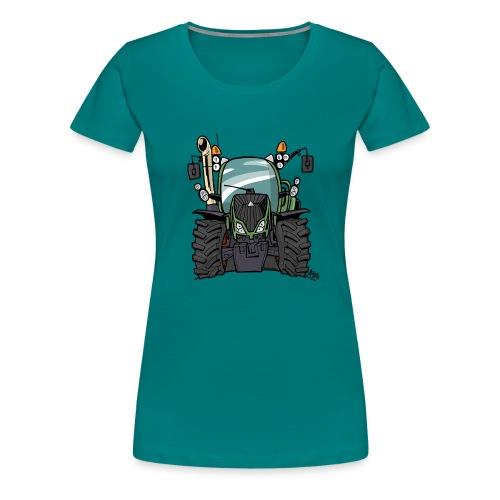 0195 F - Vrouwen Premium T-shirt