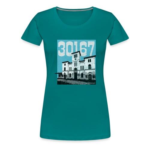 Stadtansichten Hannover Wasserspiele - Frauen Premium T-Shirt