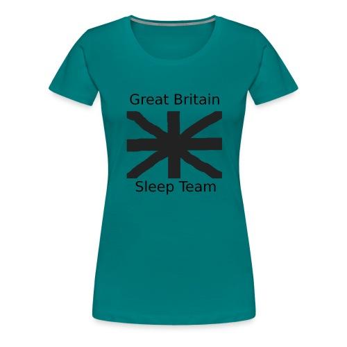 GB Sleep Team - Women's Premium T-Shirt