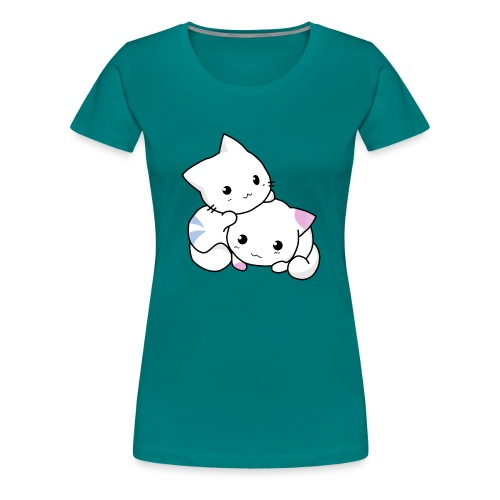 sweet cats - Frauen Premium T-Shirt