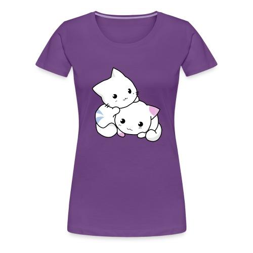 sweet cats - Frauen Premium T-Shirt