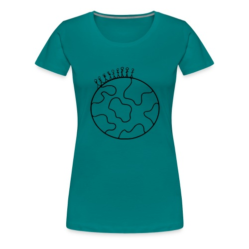 On Top Of The World - Women's Premium T-Shirt