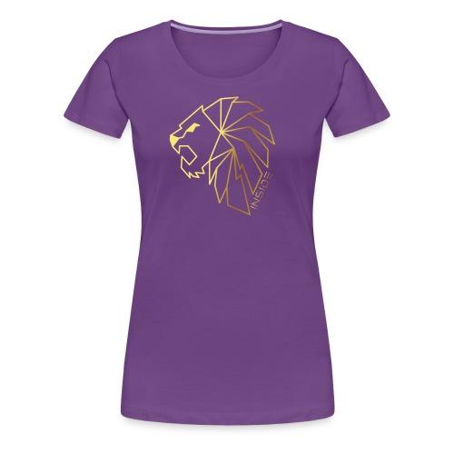 Löwe, Lion Inside - Frauen Premium T-Shirt