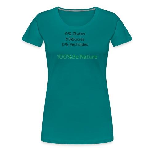 Zéro Pourcent - T-shirt Premium Femme