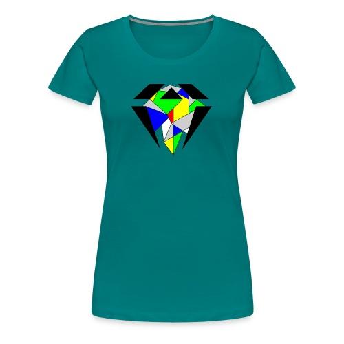 J.O.B. Diamant Colour - Frauen Premium T-Shirt