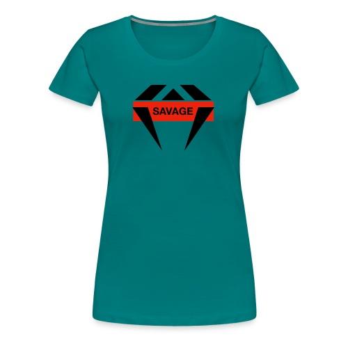 J.O.B Diamant Savage - Frauen Premium T-Shirt