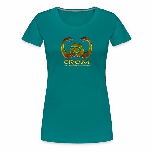 crom - Navegador web - Camiseta premium mujer