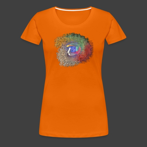 Brainwashing 3D - Women's Premium T-Shirt