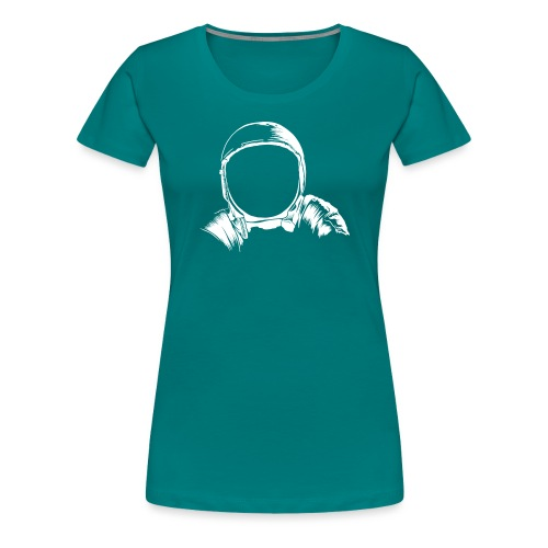 Astronauten Helm - Frauen Premium T-Shirt
