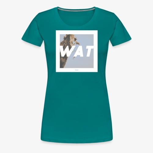 WAT #01 - Frauen Premium T-Shirt