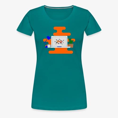 Ordenador - Camiseta premium mujer