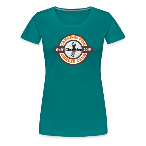 Cheese Club 2019 Golf Champion - Women's Premium T-Shirt