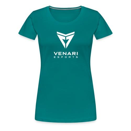 Venari Weiß - Frauen Premium T-Shirt