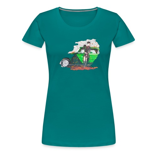 Fall - Frauen Premium T-Shirt