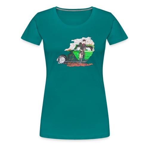 Fall - Frauen Premium T-Shirt