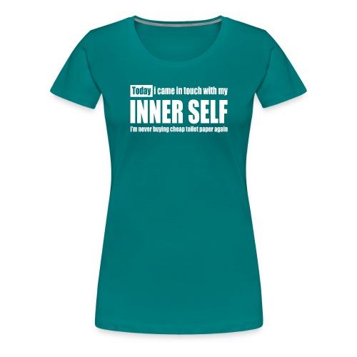 inner self - Vrouwen Premium T-shirt