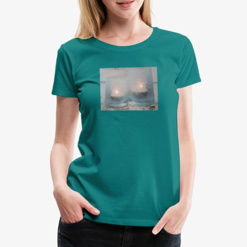 Selectie kaarslicht - Vrouwen Premium T-shirt