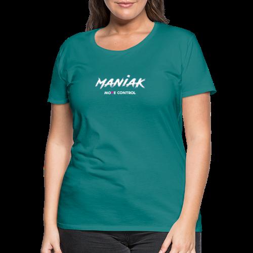 ManiaK 2017 White - Frauen Premium T-Shirt