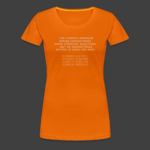 The Financial - Women's Premium T-Shirt