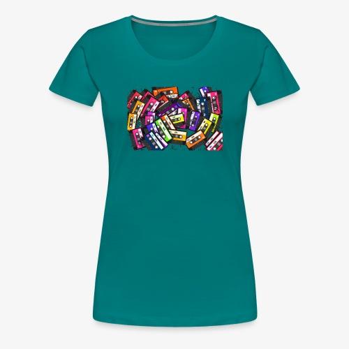 Cassetes - Camiseta premium mujer