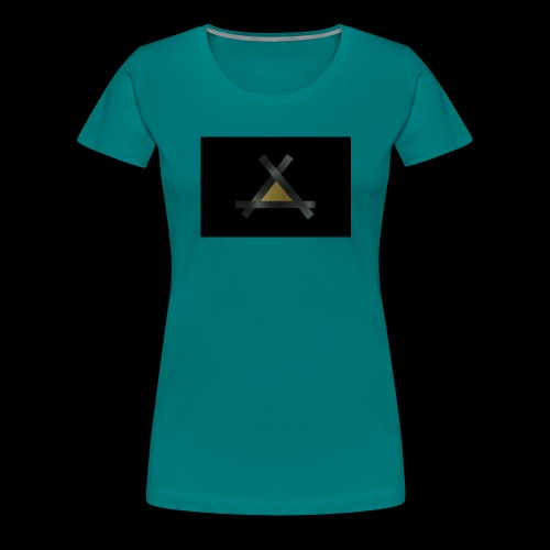 Triank Gold-Braun - Frauen Premium T-Shirt