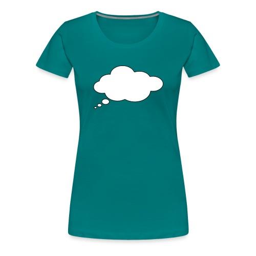 Shirt Druckerei 24 Sprechblase - Frauen Premium T-Shirt