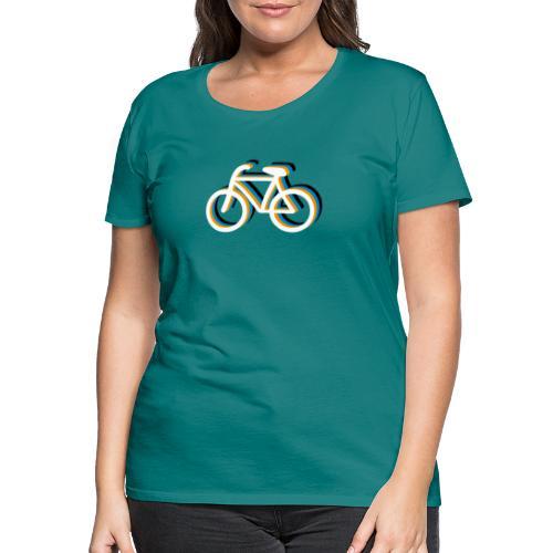 Bicycle Fahrrad - Frauen Premium T-Shirt