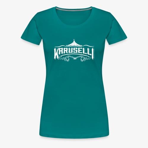 Karuselli - Naisten premium t-paita