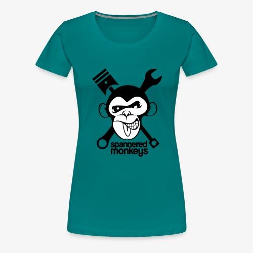spanneredmonkeys-monkeyface - Women's Premium T-Shirt