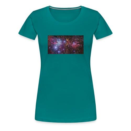 Stjernerummet Mullepose - Dame premium T-shirt