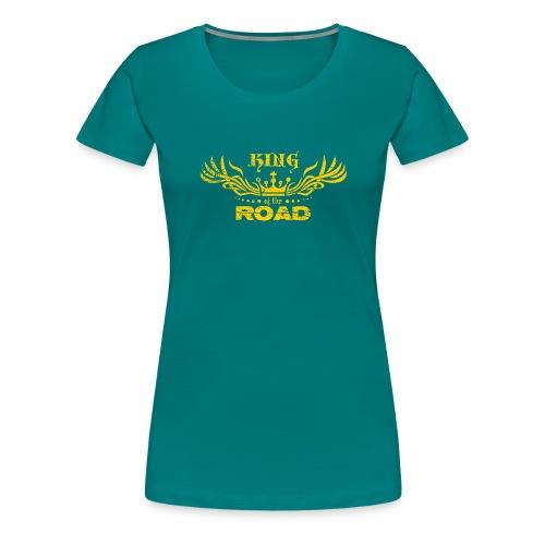 King of the road light - Vrouwen Premium T-shirt