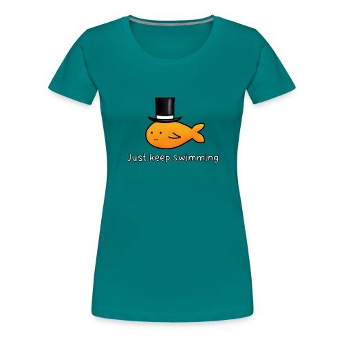 HAT FISH - Women's Premium T-Shirt