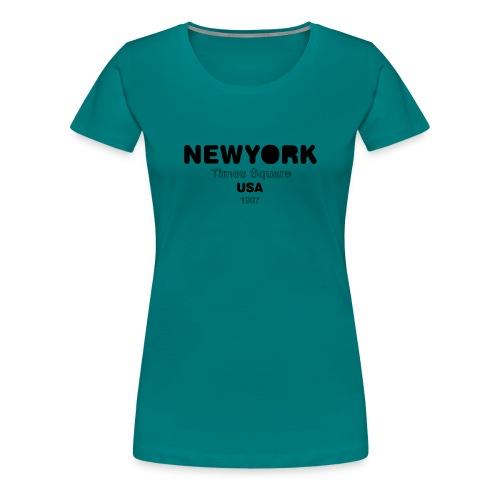NewYork USA - T-shirt Premium Femme