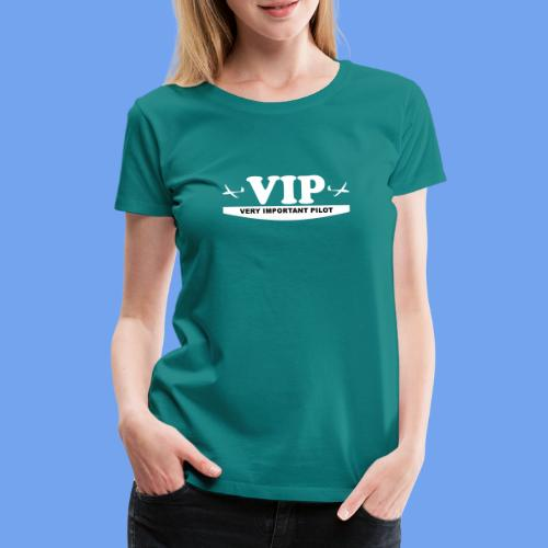 VIP Segelflieger gleiten lustig Segelflugzeug - Frauen Premium T-Shirt