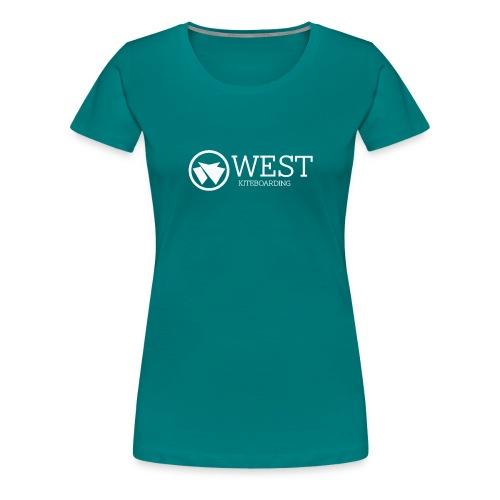 West Kiteboarding - Frauen Premium T-Shirt