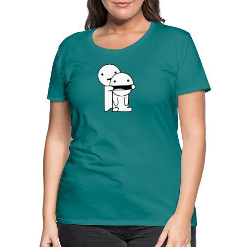 Lachen! - Vrouwen Premium T-shirt