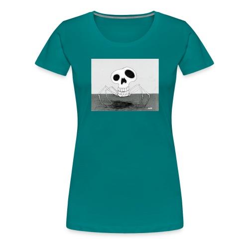 skull spider - Premium-T-shirt dam