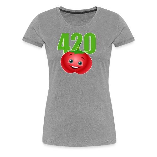 Tomate 420 - Frauen Premium T-Shirt