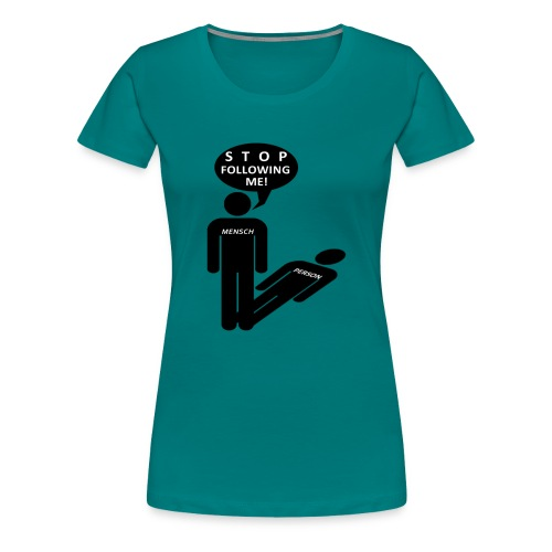 Mensch-Person - Frauen Premium T-Shirt