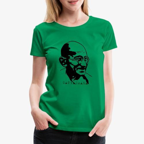 Gandhi Satyagraha - Premium-T-shirt dam
