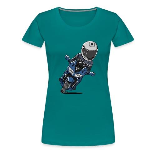 0790 FJR PhantomBlue - Vrouwen Premium T-shirt