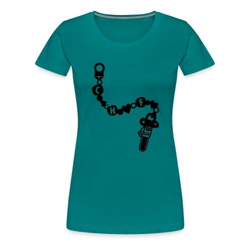 Schnullerkette - Frauen Premium T-Shirt