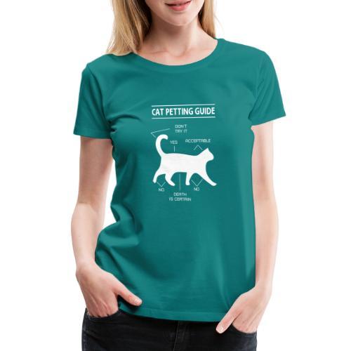 CAT GUIDE - T-shirt Premium Femme