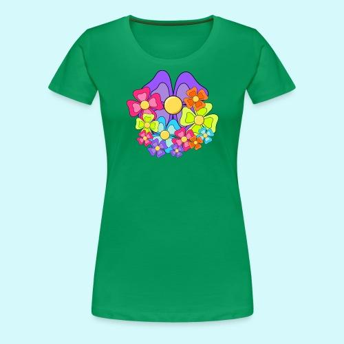 Blumen - Frauen Premium T-Shirt