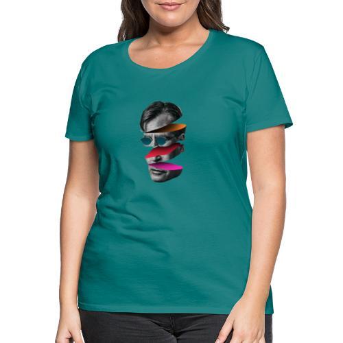 Head Design - T-shirt Premium Femme