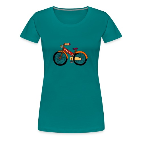 Hipster Bike Shirt 2016 Collection Verano Summer - Camiseta premium mujer
