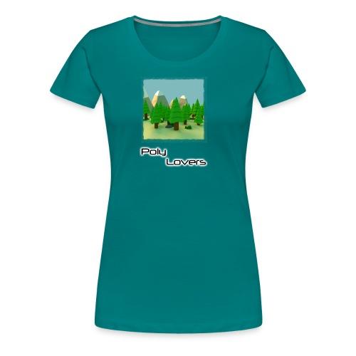 Poly Lovers - Camiseta premium mujer