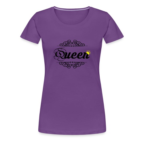 queen - Camiseta premium mujer