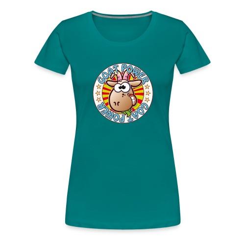 Goat Power - Women's Premium T-Shirt